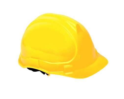 Hełm przemysłowy ochronny żółty Lahti Pro L1040205