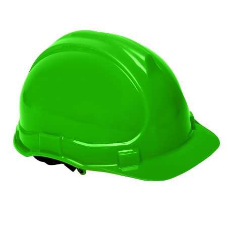 Hełm przemysłowy ochronny zielony Lahti Pro L1040206