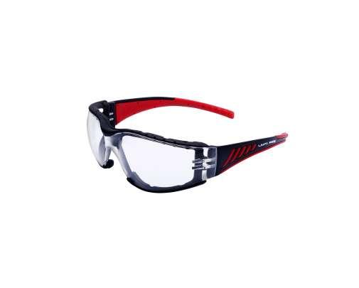 """Okulary ochronne bezbarwne z pianką odporności mechanicznej  """"FT"""" Celah Lahti Pro L1500500"""