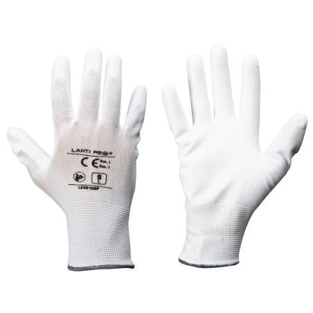 Rękawice ochronne powlekane poliuretanem 12 par Lahti Pro L2301