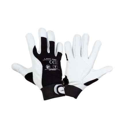 Rękawice ochronne robocze skóra kozia Lahti Pro L2708