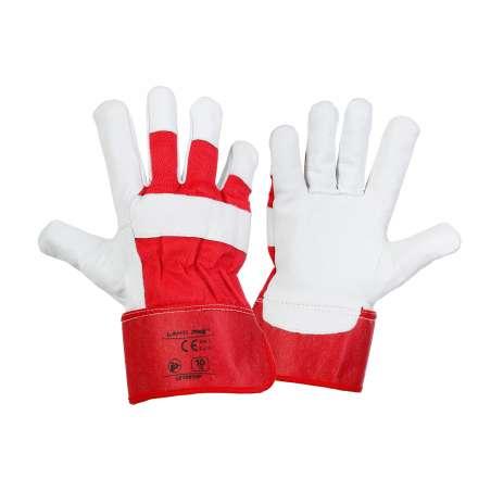 Rękawice robocze ochronne ze skóry koziej Lahti Pro L270910K
