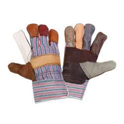 Rękawice robocze ochronne ze skóry meblowej Lahti Pro L271210W