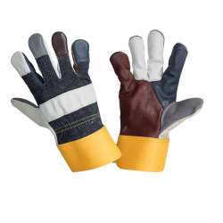 Rękawice ze skóry meblowej bydlęcej Lahti Pro L271310W
