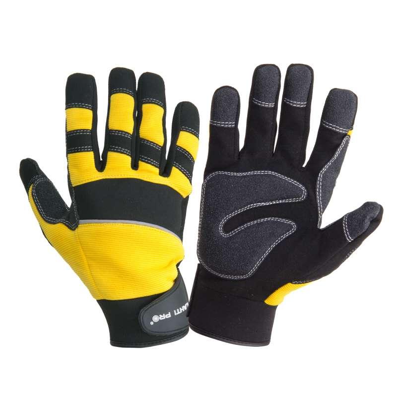 Rękawice warsztatowe z poduszką PVC Lahti Pro L280809K