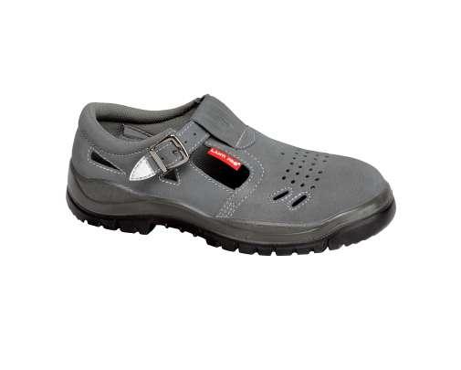 Sandały zamszowe szare S1 SRC Lahti Pro L30601
