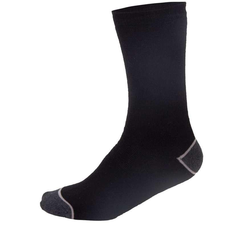 Skarpety średniej grubości czarno-szare rozmiar 39-42 3 pary Lahti Pro L3090239