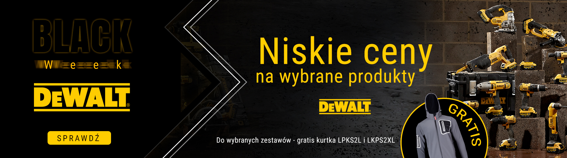 BLACK WEEK DeWalt